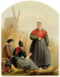 Traditional Overijssel dress