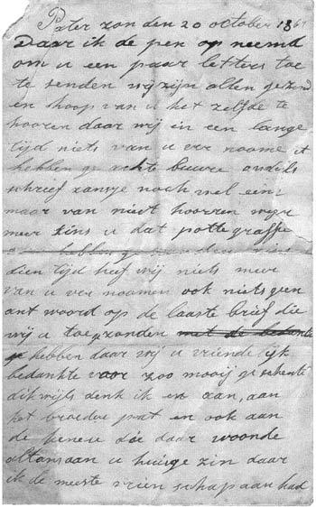 Dutch letter
