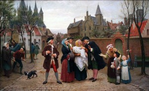 Baptism in Flanders, 18th century