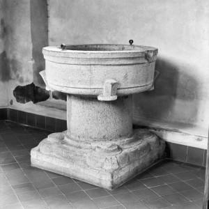 Baptismal font from Leur, Noord-Brabant