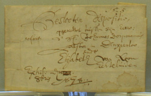 Closed will of Rev. Dorpmans, 1678