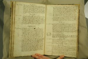 Church council notes of Sint Anna ter Muiden, 1632-1633