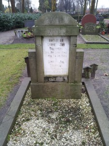 Grave of Gerrit Jan Droppers (1845-1925)