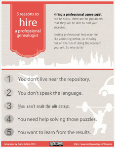 5 reasons to hire a professional genealogist