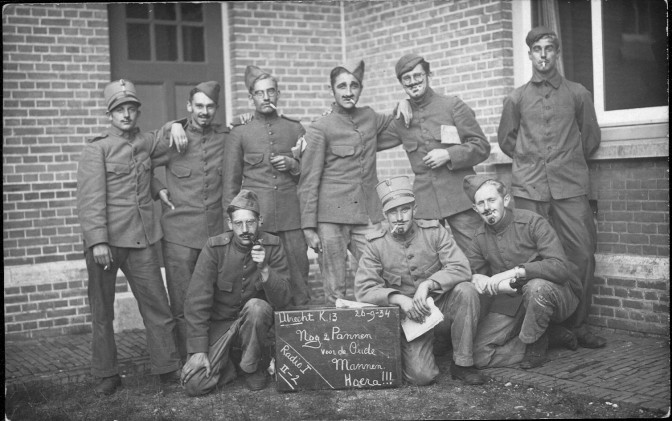 Henk in the military