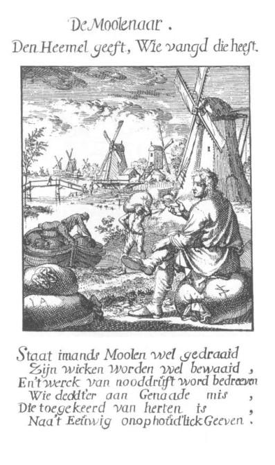 Dutch etching of a miller