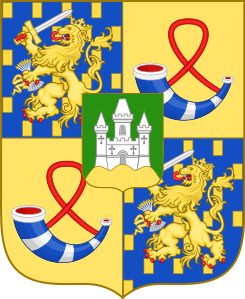 Coat of arms of King Willem-Alexander