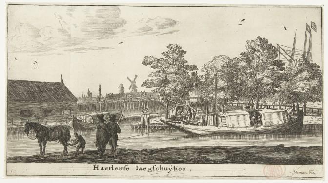 Trekschuit to Haarlem, 1652-1654
