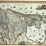 Map of Holland (the province). Nicolaas Visscher, 1682 (public domain)