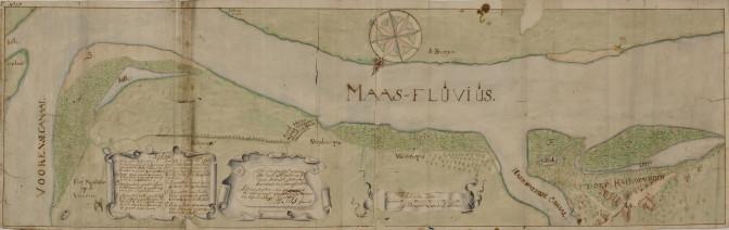 The river lands near Heerwaarden, 1697