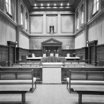 Courtroom of the court in Tiel