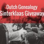Banner for the Dutch Genealogy Sinterklaas Giveaway