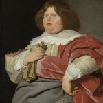 portrait of a corpulent young man