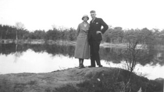 Henk and Mien in 1934