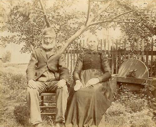 Picture of Jan Willem Wieberdink and his second wife