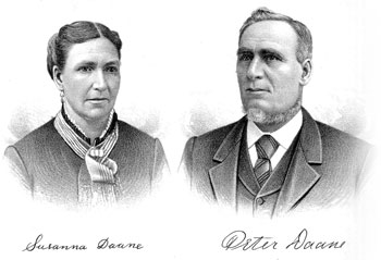 Portraits of Susan and Peter Daane