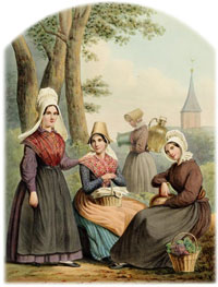 Noord-Brabant traditional dress