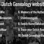 Top 10 Dutch genealogy websites