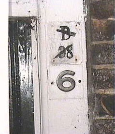 old and new house number