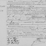 Birth record of Antonie de Wijze, Middelburg 2 March 1886