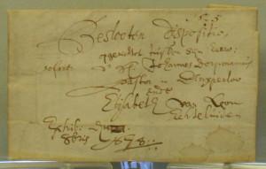 Closed will of Rev. Dorpmans, 1678