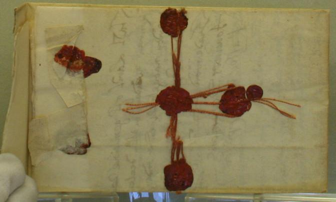 Closed will of Rev. Dorpmans, 1678.