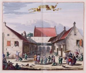 The orphanage at Batavia
