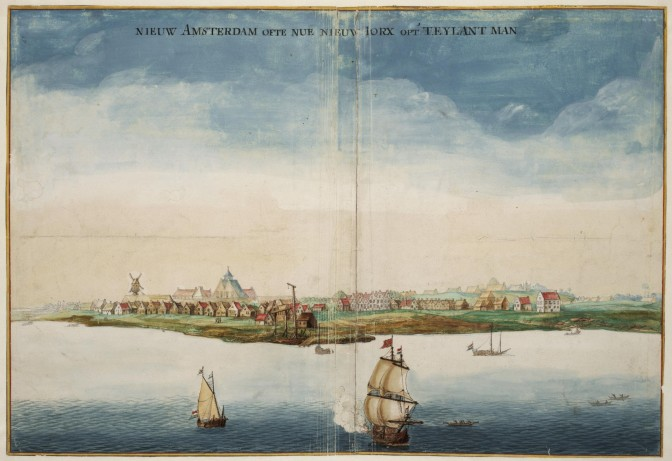 View of New Amsterdam