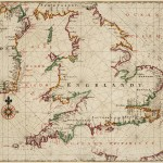 Chart of England, the south of Ireland and part of the French coast