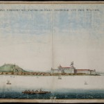 Fortress of Elmina, Africa, heart of the Dutch slave trade