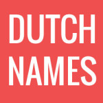 Dutch Names