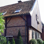 House with timber frame in Bredevoort