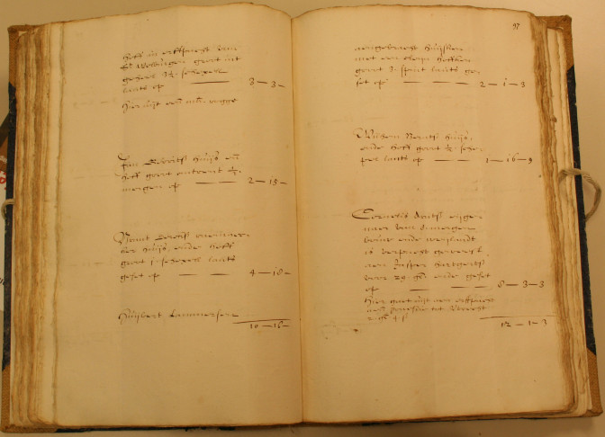 1647 tax record of Huijbert Lammersen