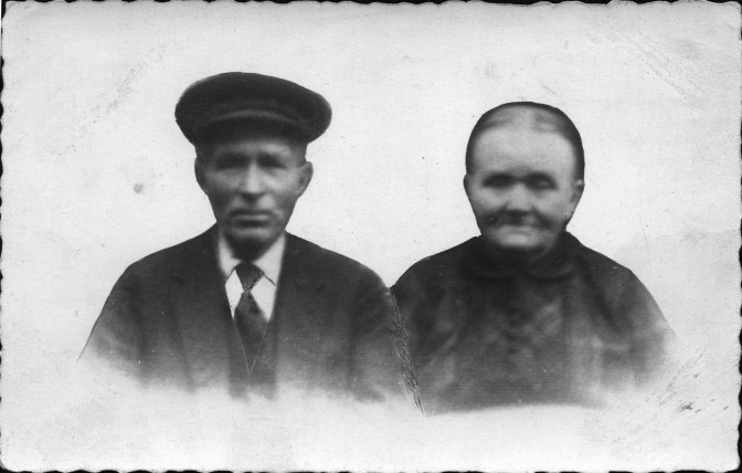 Hendrik Hoitink and Johanna Piek