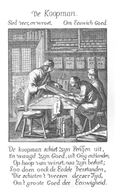 Etching of a merchant