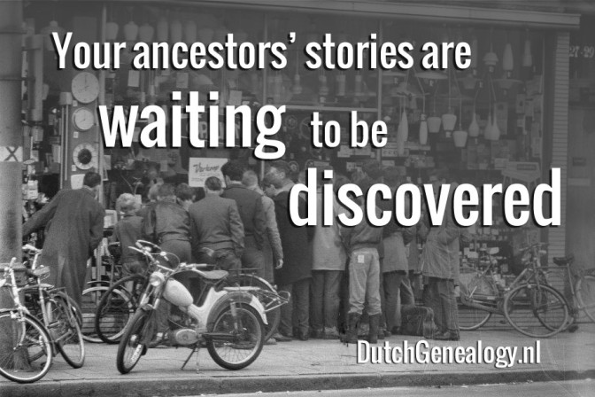 Your ancestors' stories are waiting to be discovered