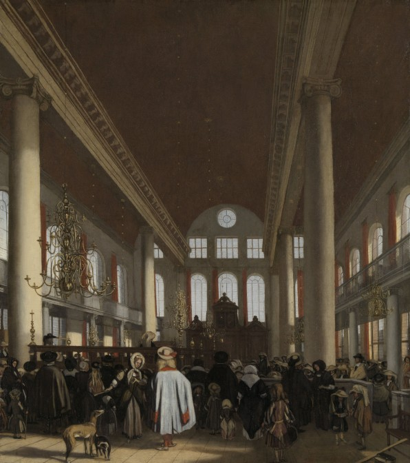 Portuguese Synagogue in Amsterdam, 1680