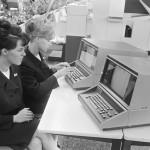 Computer demonstration, 1966