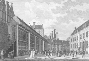 Citizen's orphanage in Amsterdam