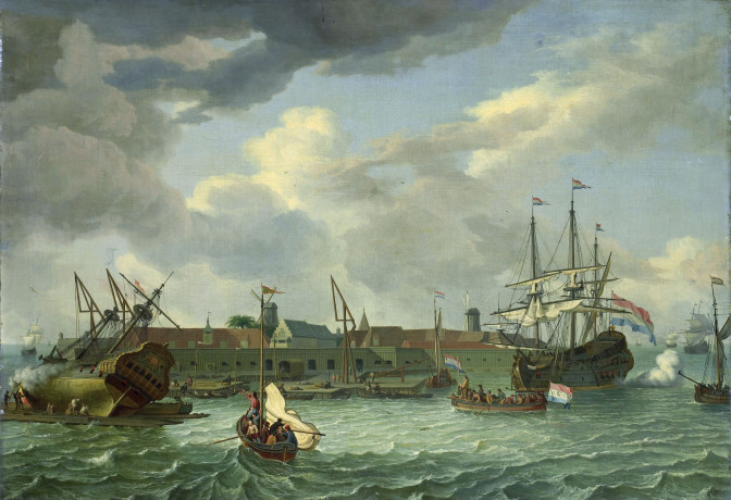 The island of Onrust near Batavia, 1699