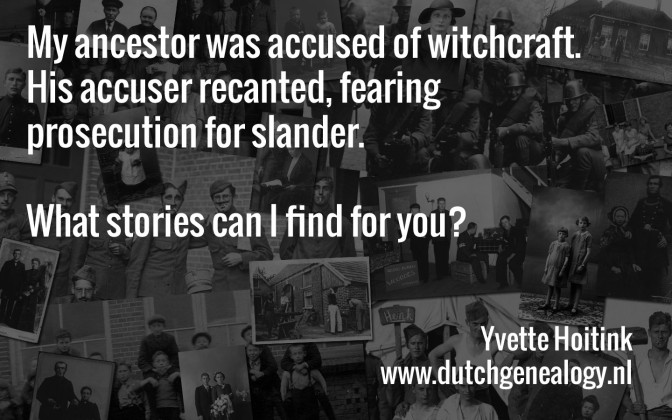 My ancestor was accused of witchcraft