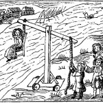 Witch being weighed