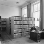 archivist in an archive