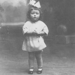 My great-aunt, Riet Flooren, as a child