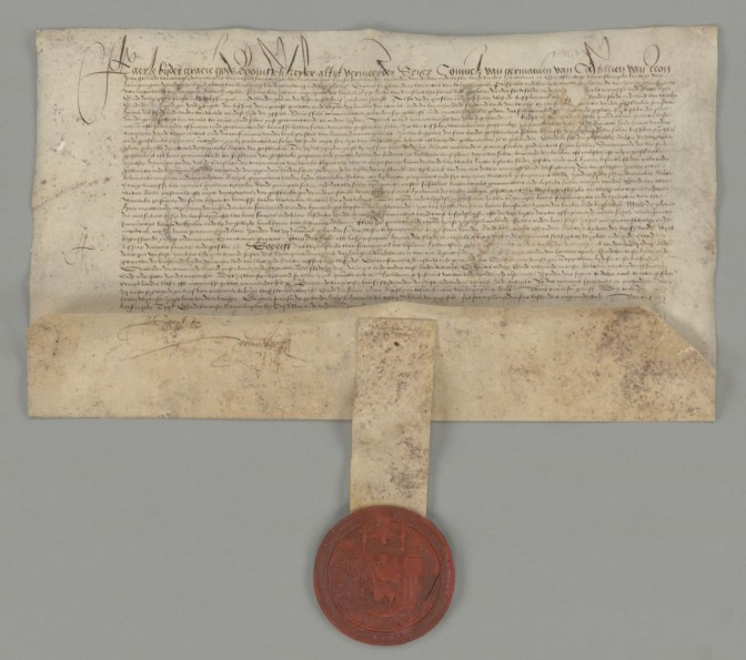 charter with seal