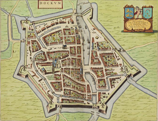 map of Dokkum
