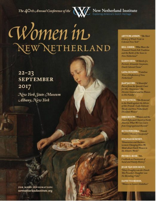 Women in New Netherland conference