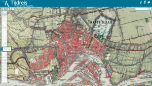 Toptijdreis website, showing Rotterdam.