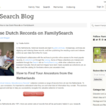 Quick tip – Guest blog post on FamilySearch