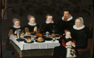 Family portrait, 1627. Anonymous artist, collection Rijksmuseum (public domain)